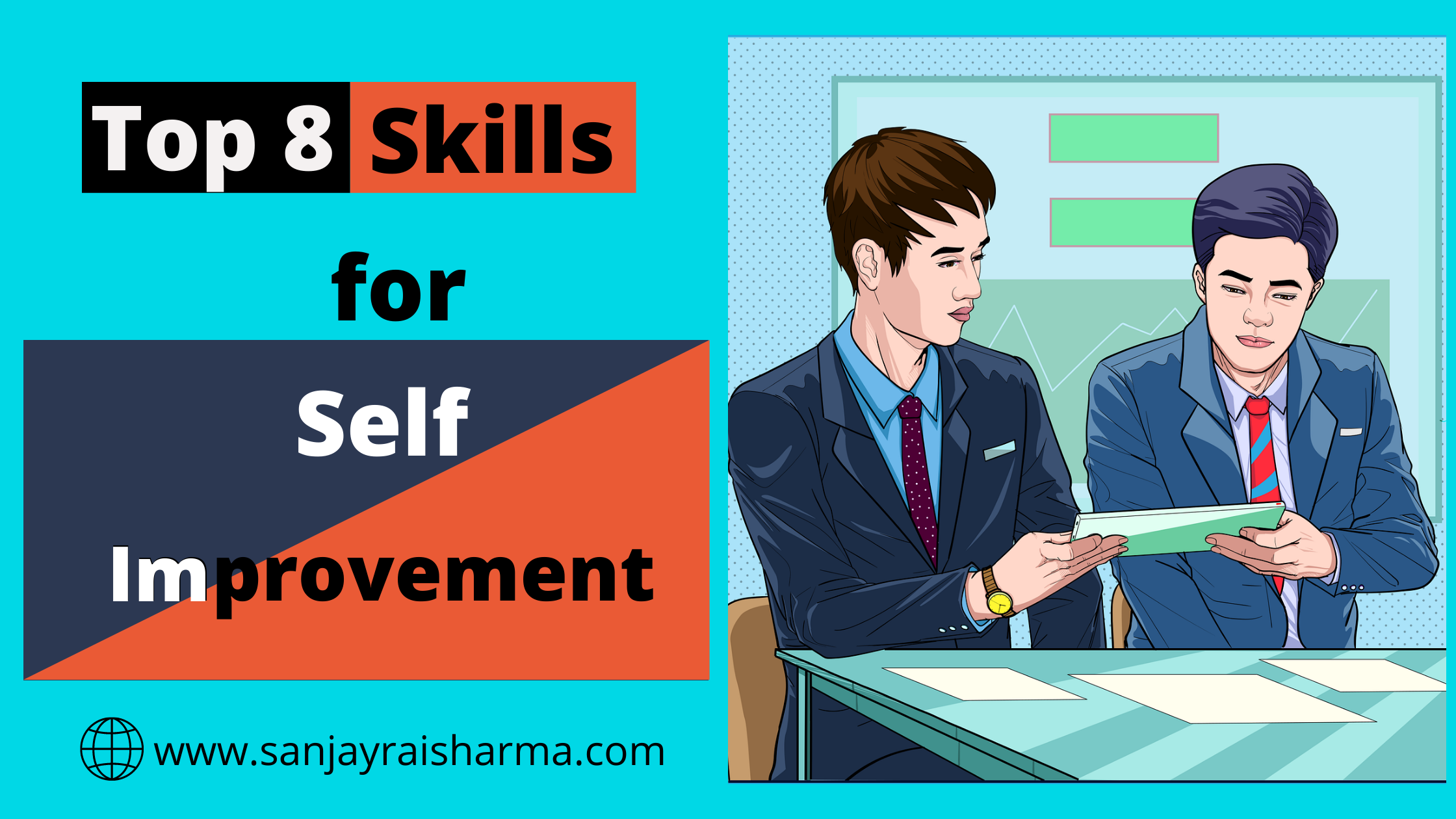 Top 8 skills that will benefit for self-improvement