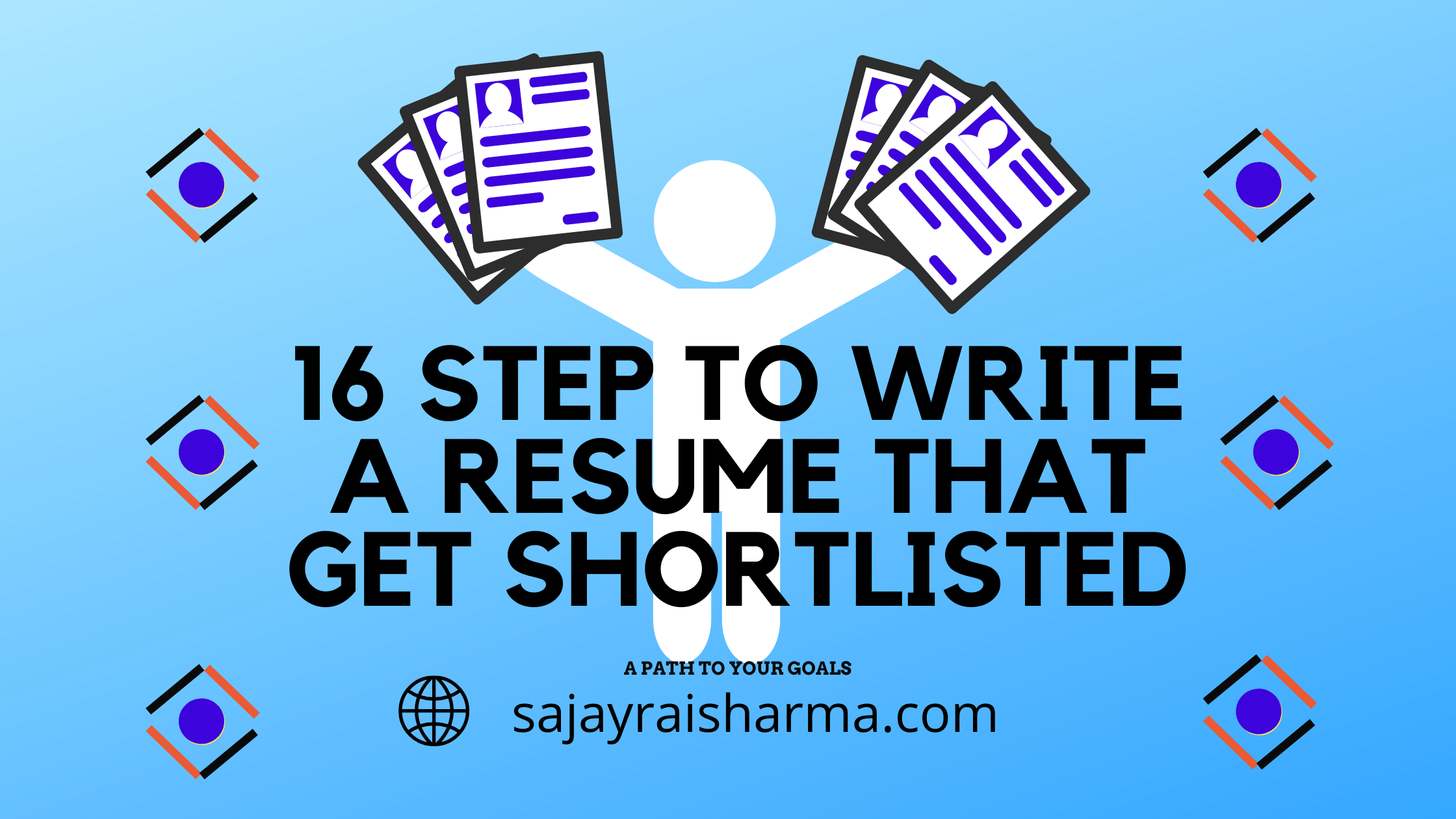 16 steps to write a resume that get shortlisted