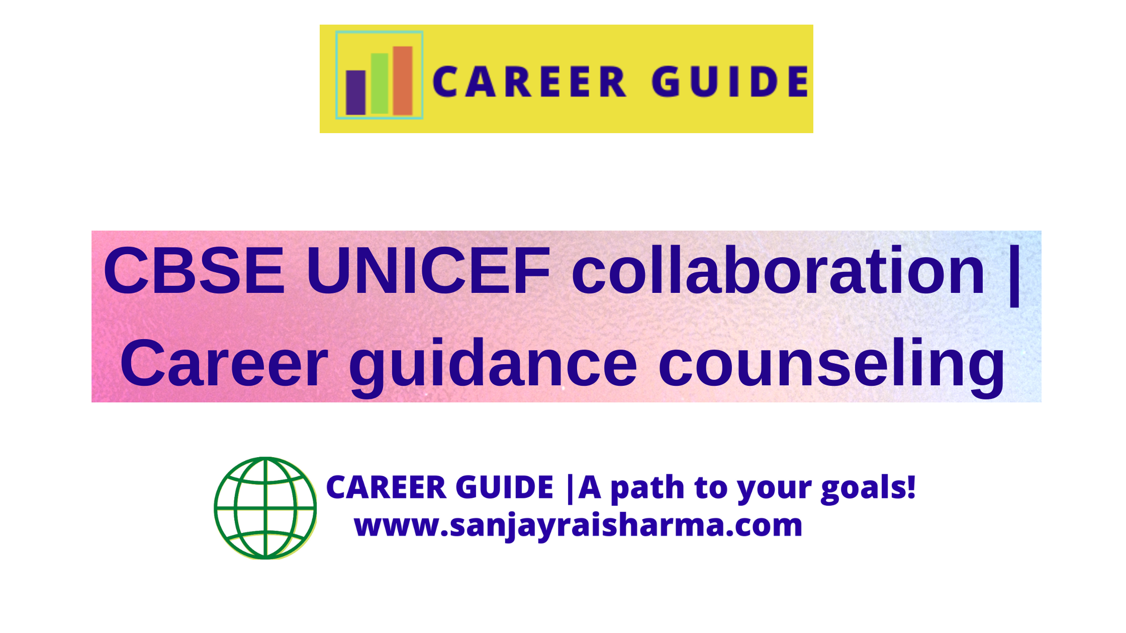 CBSE UNICEF collaboration career guidance counseling